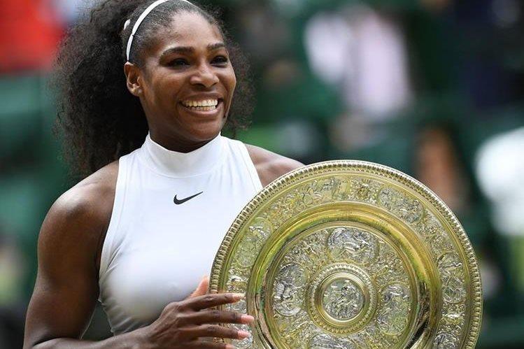 Serena Williams podría estar esperando a su primer hijo. (Foto Prensa Libre: Hemeroteca PL)