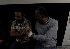 Juan Carlos Umaña Velásquez -derecha- fue enviado a prisión preventiva. (Foto Prensa Libre: Hemeroteca PL)