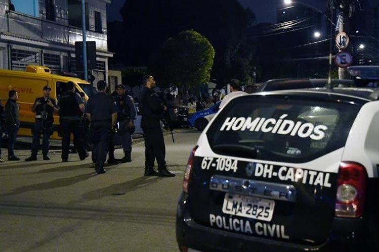 La Policía está en alerta por el aumento de la violencia en Brasil. (Foto Prensa Libre: AFP)