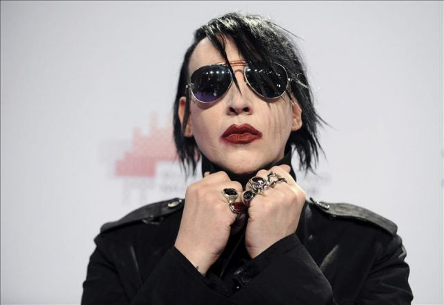 Marilyn Manson no está en su mejor momento, varios de sus conciertos han decepcionado a su público. (Foto Prensa Libre: EFE)