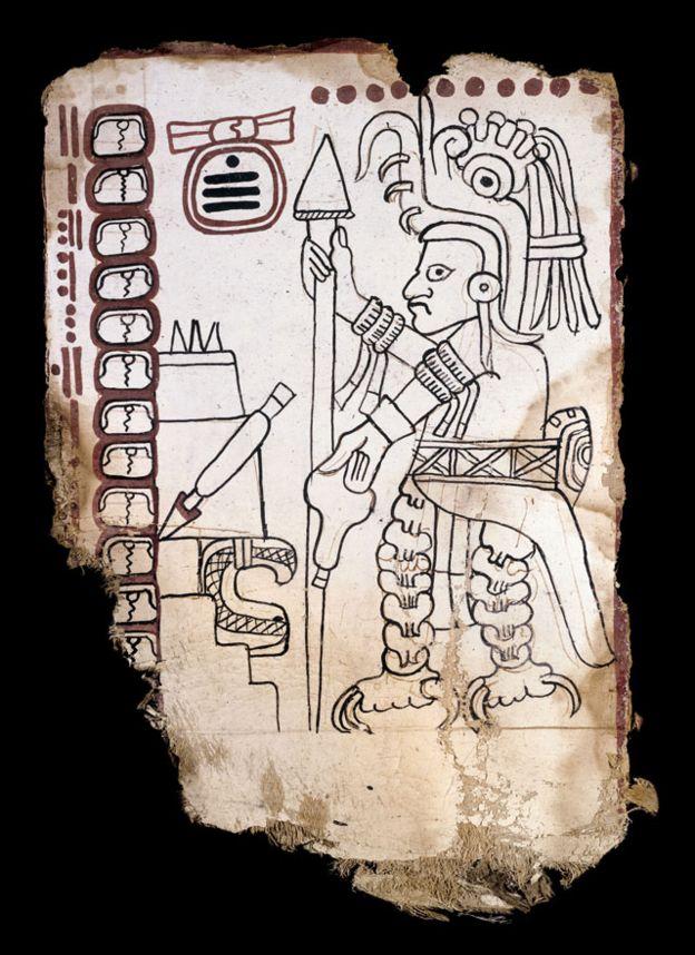 Los escépticos del Códice Grolier consideran que el papel puede ser original del Siglo 13, pero la iconografía pudo ser añadida por falsificadores del Siglo 20. ENRICO FERORELLI