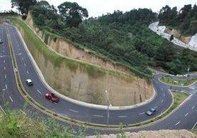 Viaducto El Pulté, inaugurado este miércoles por la comuna capitalina en la zona 16. (Foto Prensa Libre: Esbin García)