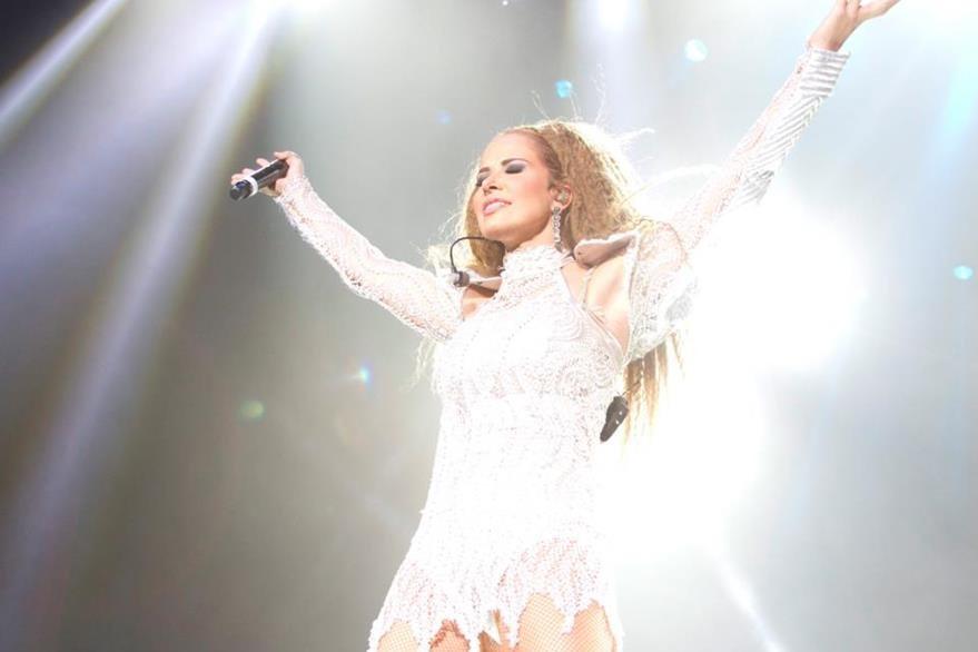 La cantante mexicana Gloria Trevi lanzará el álbum titulado El amor. (Foto Prensa Libre: Tomada de www.facebook.com/GloriaTreviOficial)