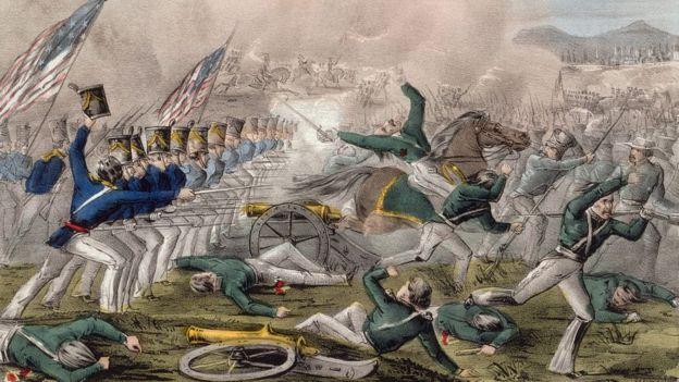 Para cuando EE.UU. ocupó Ciudad de México, ya habían pasado casi dos años de guerra y miles de muertos. (JOHN CAMERON/NATHANIEL CURRIER/LIBRARY OF CONGRESS)