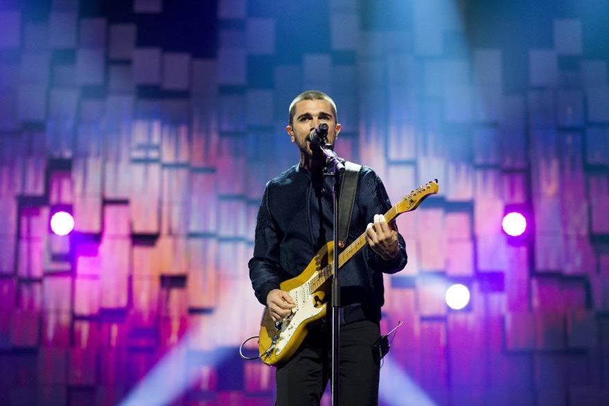 El concierto se llevó a cabo en el Telenor Arena en Oslo, Noruega, este domingo. (Foto Prensa Libre: AP)