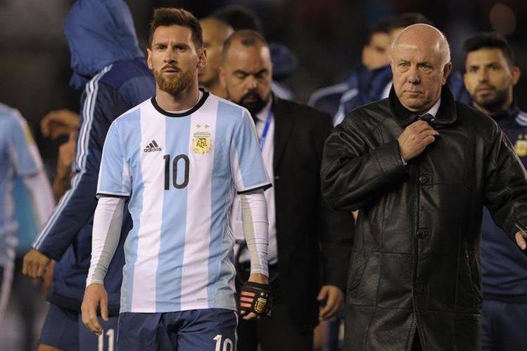 Argentina viene de empatar contra Venezuela camino al Mundial de Rusia 2018. (Foto Prensa Libre: AFP).
