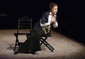 Natasha Parry durante un ensayo en el Teatro des Bouffes du Nord en París en octubre del 2003. (Foto Prensa Libre: AFP)