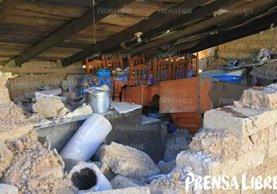 Varias vivienda sufrieron daños severos en la aldea Aldea Sujchay, Tacaná San Marcos. (Foto Prensa Libre: Álvaro Interiano)