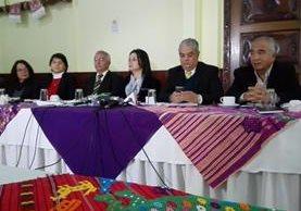 Organizaciones sociales vigilan el proceso de designación de magistrados para la Corte de Constitucionalidad. (Foto Prensa Libre: Glenda Sánchez)