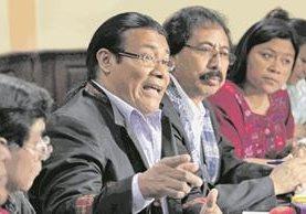 Integrantes del Observatorio de Pueblos Indígenas reprobaron el primer año de Gobierno de Jimmy Morales. (Foto Prensa Libre: Hemeroteca PL)