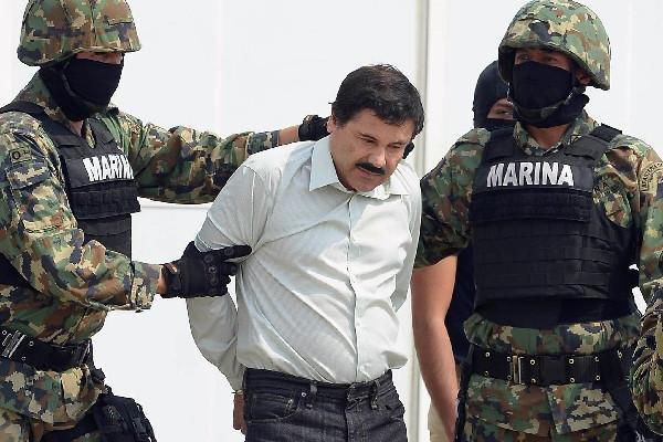 Joaquín el Chapo Guzmán fue capturado por la Marina  el sábado último, en Sinaloa, México.