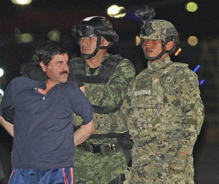 El panorama del Chapo Guzmán en EE. UU. se vislumbra complicado. (Foto Prensa Libre: EFE).