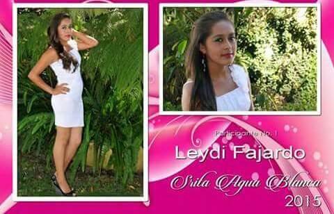 En 2015 participó para ser flor de la feria de Agua Blanca. (Foto Prensa Libre: Cortesía Facebook)