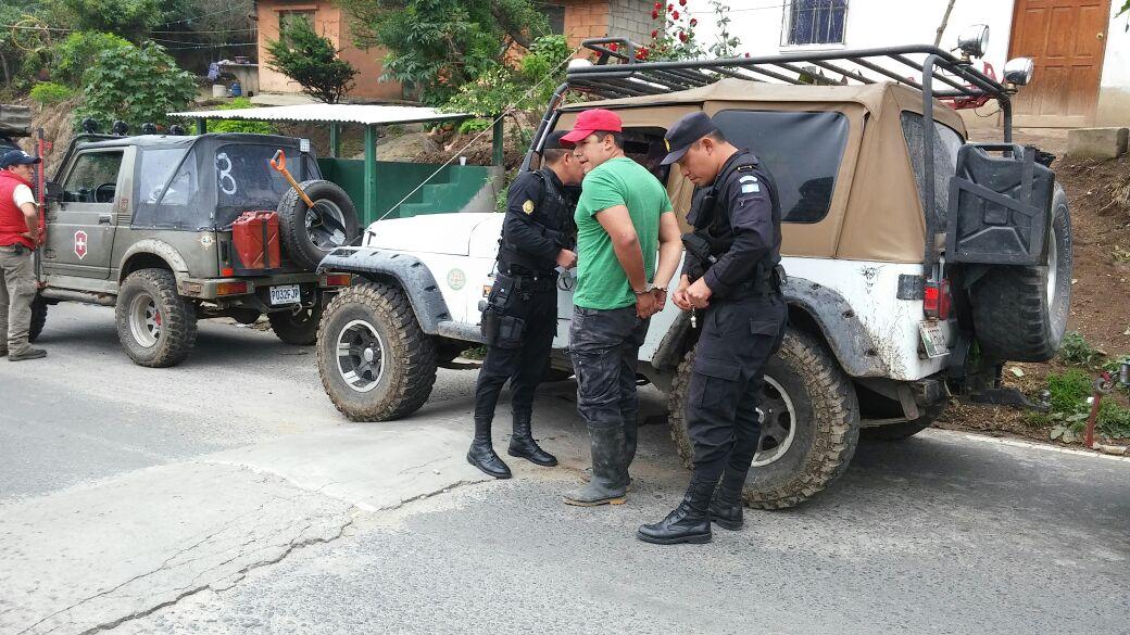 José Alfonso de León Montúfar fue capturado en San Martín Sacatepéquez, Quetzaltenango. (Foto Prensa Libre: MP)