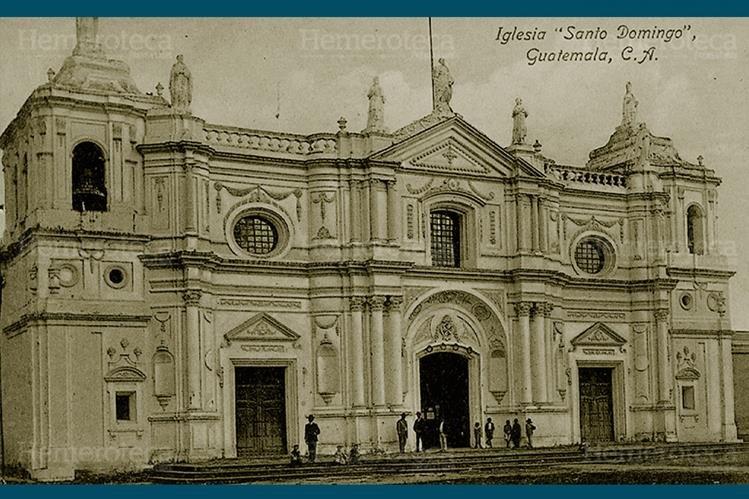 Parroquia de Santo Domingo, ubicada en la 12 avenida de la zona 1. (Foto: Hemeroteca PL)