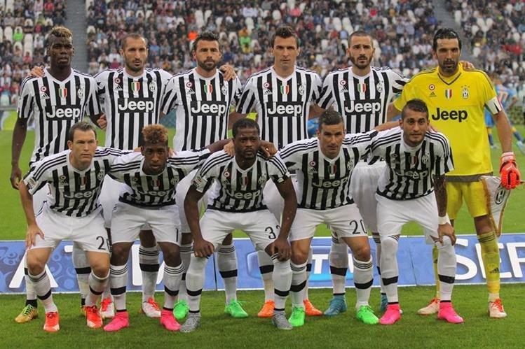 El debut de la Juve en la Serie A no fue el esperado. (Foto Prensa Libre: Hemeroteca PL)