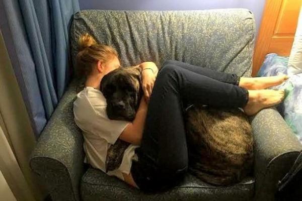 Lauren Fem y su mascota Gizelle fueron grandes amigos. (Foto Prensa Libre: SINEMBARGO.COM)