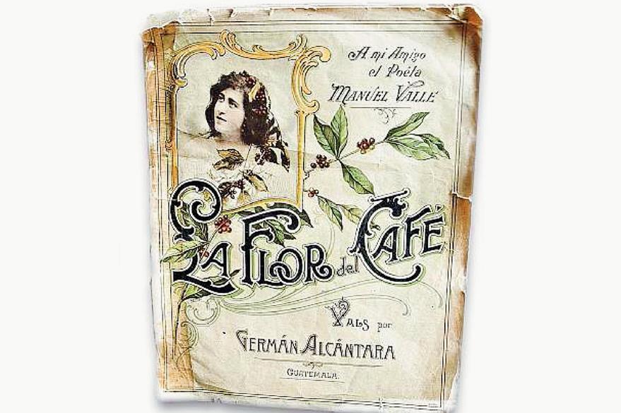 """Partitura original del vals """"La Flor del Café"""", en el Museo de Historia. (Foto: Hemeroteca PL)"""