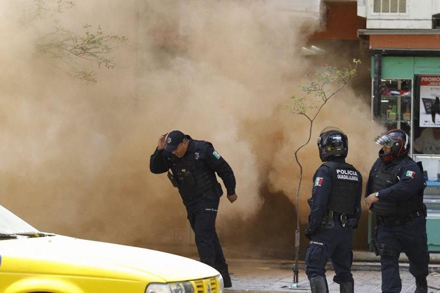 Policías mexicanos participan en un operativo. (EFE)