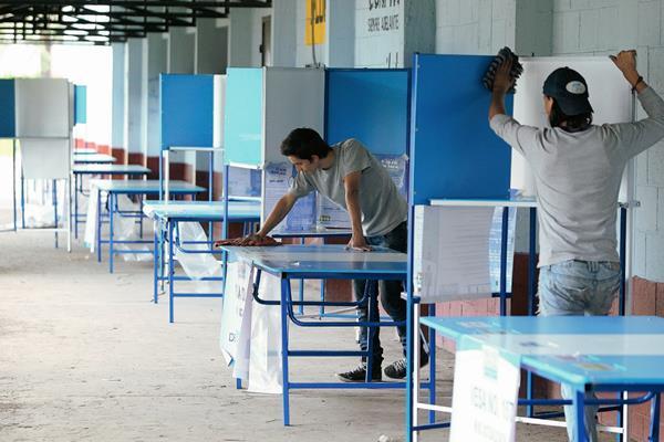 En los próximos días el TSE comenzará la campaña masiva de empadronamiento. (Foto Prensa Libre: Hemeroteca PL).