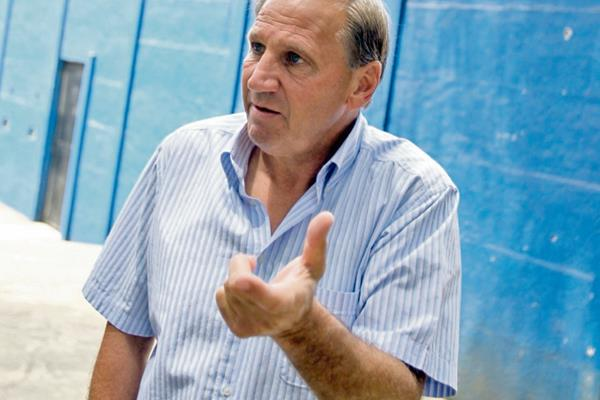 Enzo Trossero dio a conocer su molestia por la falta de juego limpio en el futbol guatemalteco. (Foto Prensa Libre: Carlos Vicente)