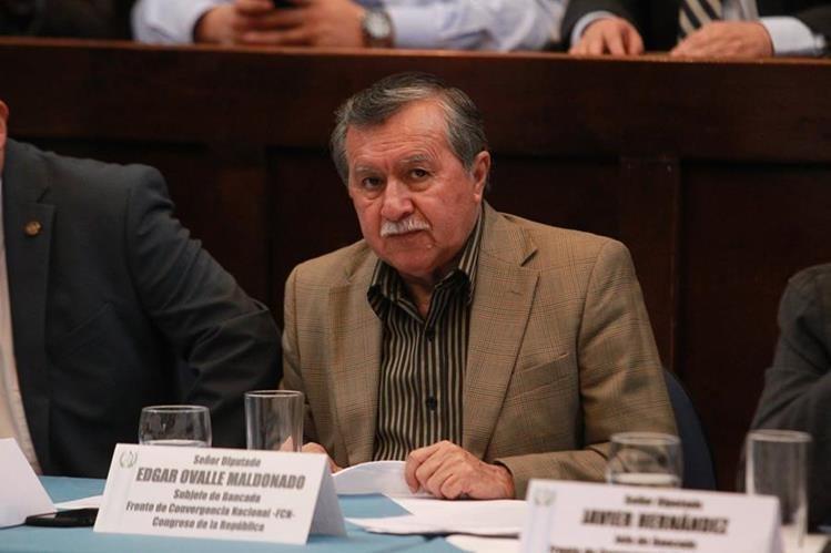 El diputado es señalado por el Ministerio Público de violaciones a derechos humanos durante el conflicto armado interno. (Foto Prensa Libre: Hemeroteca PL)