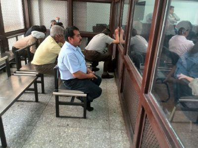 El exalcalde de La Democracia, Huehuetenango fue condenado a ocho años de presión. (Foto Prensa Libre: Paulo Raquec)