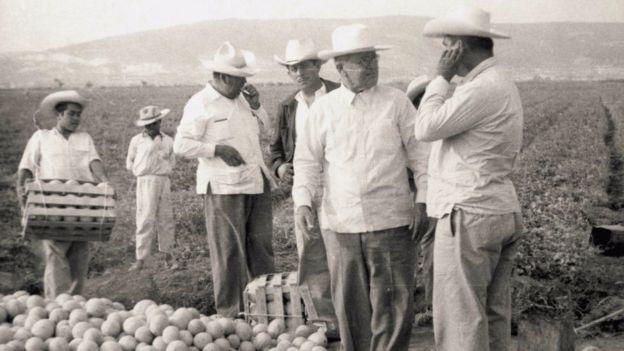 El magnate tenía especial afición por la agroindustria. WILLIAM ANSTEAD JENKINS