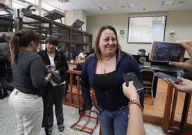 María Martha Castañeda Torres habría planificado traficar droga con el reo Marvin Montiel Marín. (Foto Prensa Libre: Hemeroteca PL)