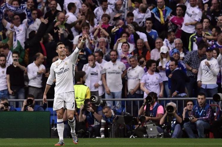 Cristiano Ronaldo llegó a 103 goles en la Liga de Campeones de Europa.