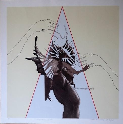 Triangulo, de la serie Figuras Geométricas.