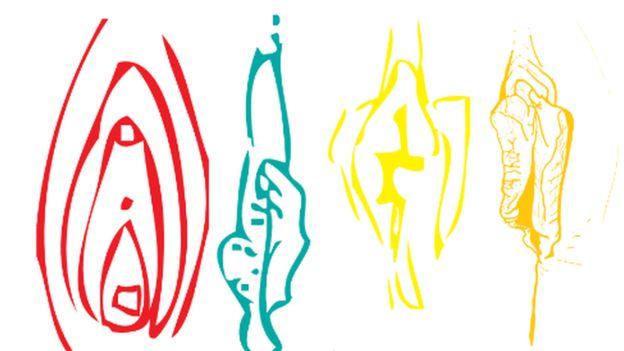 Los dibujos que trae la guía en línea muestran algunas variaciones en el aspecto de diferentes vulvas. (Crédito foto: BritSPAG)