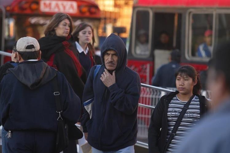 Los días de frío comenzarán a sentirse a partir del jueves 10 de noviembre. (Foto Prensa Libre: HemerotecaPL)