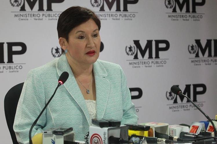 FIscal General y Jefa del Ministerio Público, Thelma Aldana. (Foto Prensa Libre: Hemeroteca PL)