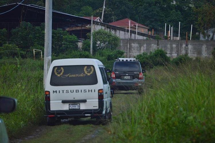 Restos son trasladado de Malacatán, San Marcos, a la capital. (Foto Prensa Libre: Cortesía)