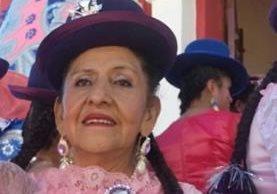 Carmen Pilar Chacón se recupera en un centro médico. (Foto del sitio debate.com.mx)