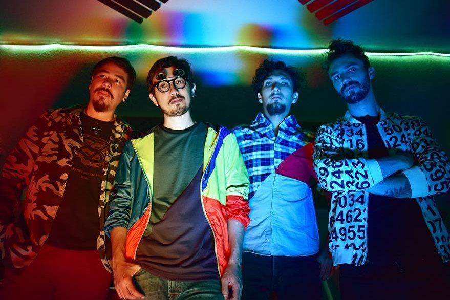 Guerra, Lemus, Chinchilla y Gamez, presentan una producción innovadora. (Foto Prensa Libre: Jennix)