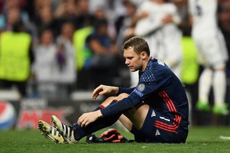 El portero alemán Manuel Neuer se perderá el resto de la temporada por una fractura en el pie. (Foto Prensa Libre: Hemeroteca)