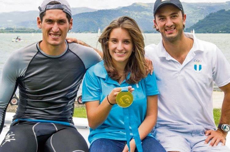 Juan Ignacio Maegli, Irene Abascal y Jason Hess, medallistas de Toronto 2015.