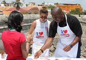 Sabor USA es una experiencia gastronómica, que te trae los mejores alimentos de Estados Unidos y Colombia fue el primer país a donde llegó la feria. (Foto Prensa Libre: www.saborusa.co)
