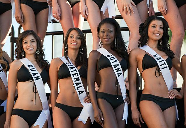 Jessica Scheel quedó en el Top 10 de las finalistas de Miss Universo 2010. (Foto: EFE)
