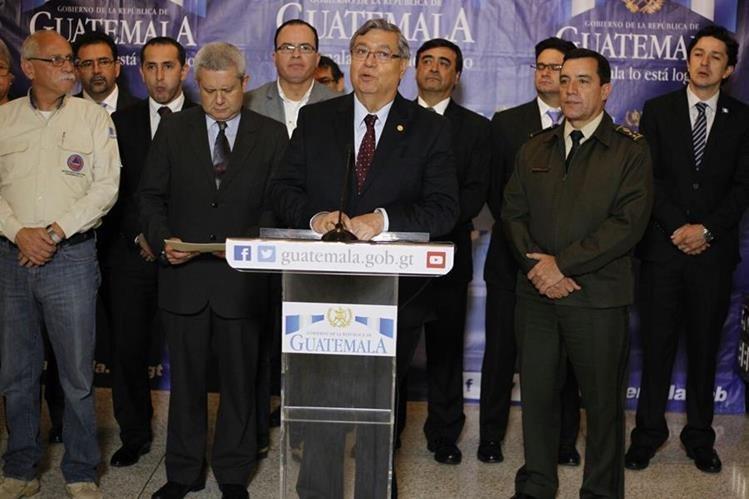 Gobierno anuncia la activación de un estado de Calamidad para mitigar los efectos de la lluvia de la temporada. (Foto Prensa Libre: Paulo Raquec)<br />