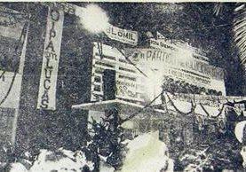 Casa de campaña del PR-PID, donde Lucas lanzó candidatura. (Foto: Hemeroteca PL)