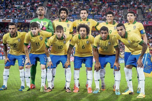 La Selección de Brasil es una de las favoritas a quedarse con la Copa América Chile 2015. (Foto Prensa Libre: AFP)