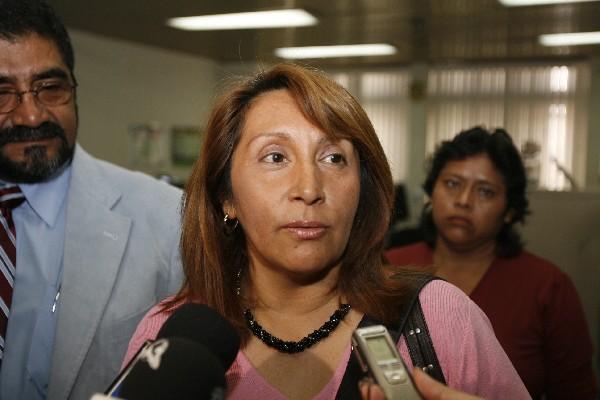 rossana Mena, jueza de la Niñez.
