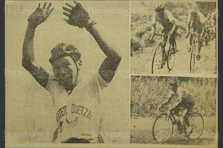 La Quinta Vuelta Ciclística a Guatemala, en 1961, fue dedicada a Jorge Surqué. (Foto: Hemeroteca PL