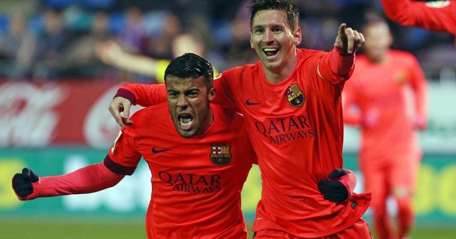 Rafinha confía en la continuidad de Messi con el Barcelona. (Foto Prensa Libre).