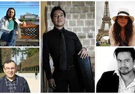 Artistas guatemaltecos ponen en alto el nombre de Guatemala en Francia. (Foto Prensa Libre: Hemeroteca PL)
