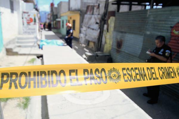 Guatemaltecos figuran entre los ciudadanos latinoamericanos con más temor a la violencia. (Foto Prensa Libre: Hemeroteca PL)