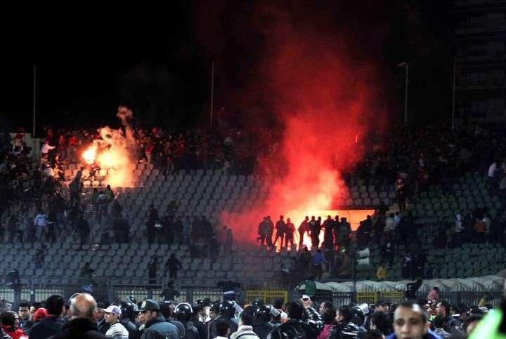 La violencia en Port Said dejo varias victimas. (Foto Prensa Libre: Tomada de internt)